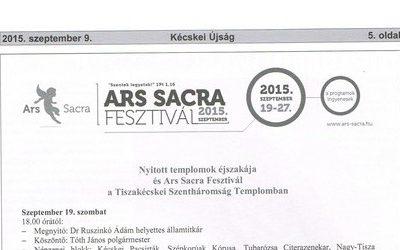 Ars sacrameghívó