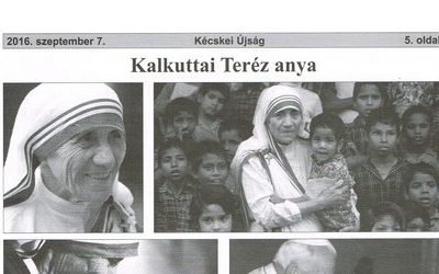 Kalkuttai Teréz anya