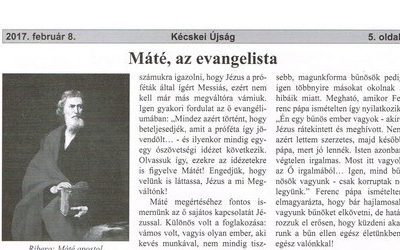 Máté, az evangelista