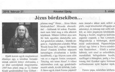Jézus bőrdzsekiben
