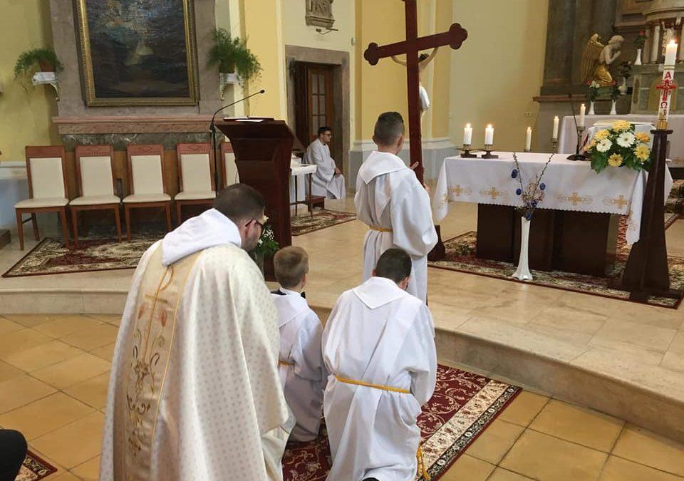 Ministránsokat avattunk Jó Pásztor ünnepén