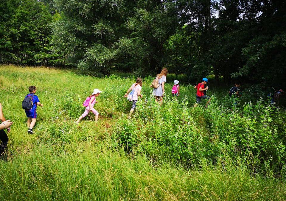 Napközis tábort tartottunk az alsósoknak a Plébánián