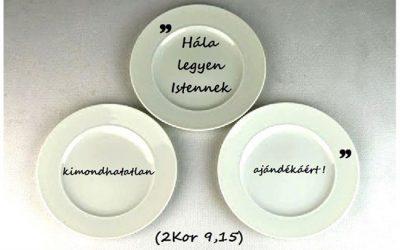 A harmadik tányér