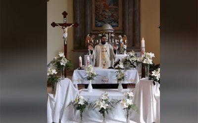 Online szentmise-közvetítés, 2020. április 12. Húsvétvasárnap