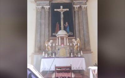 Online szentmise-közvetítés, 2020. április 3.