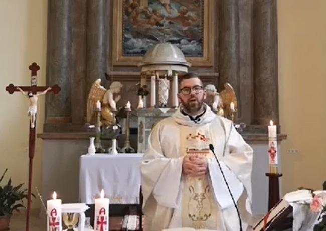 Online szentmise-közvetítés, 2020. május 10.