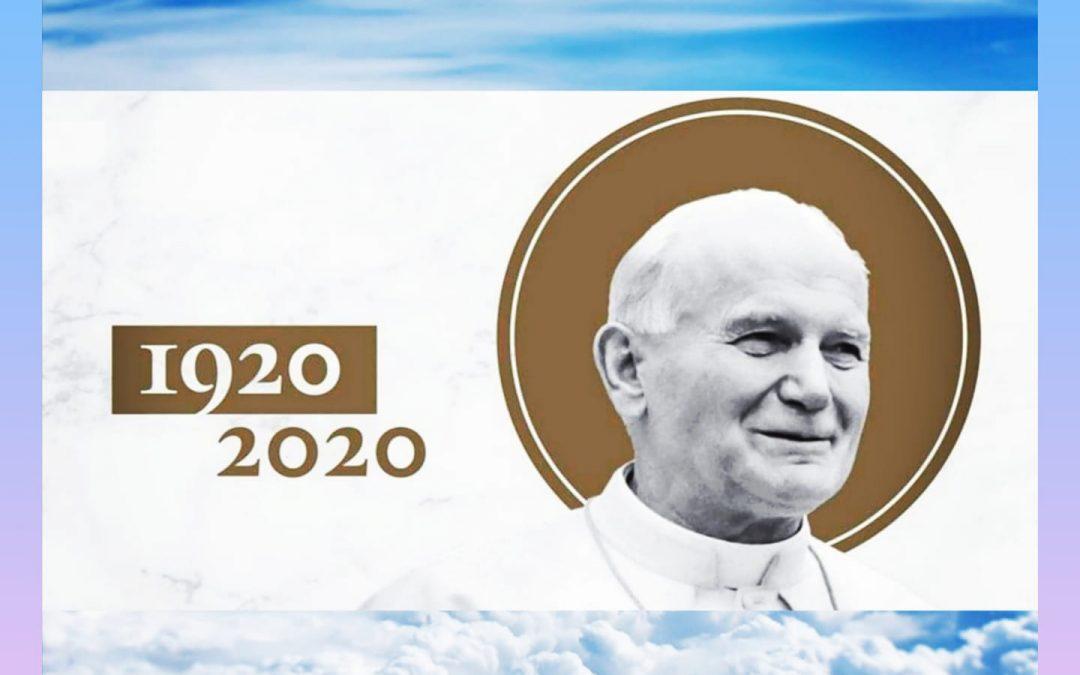 Hálaadó szentmise II. János Pál Pápáért, születésének 100. évfordulóján – ÉLŐ