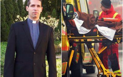 Papként és mentőápolóként a hívek szolgálatában