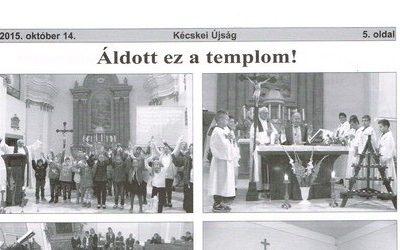 Áldott ez a templom!