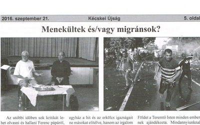 Menekültek és/vagy migránsok?