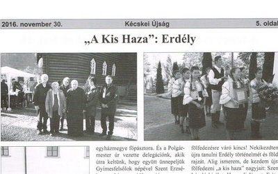 """""""A KIs Haza"""": Erdély"""