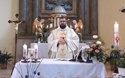 Online szentmise-közvetítés, 2020. május 3.