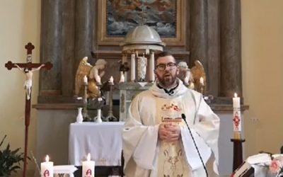 Online szentmise közvetítés 2020. május 24.