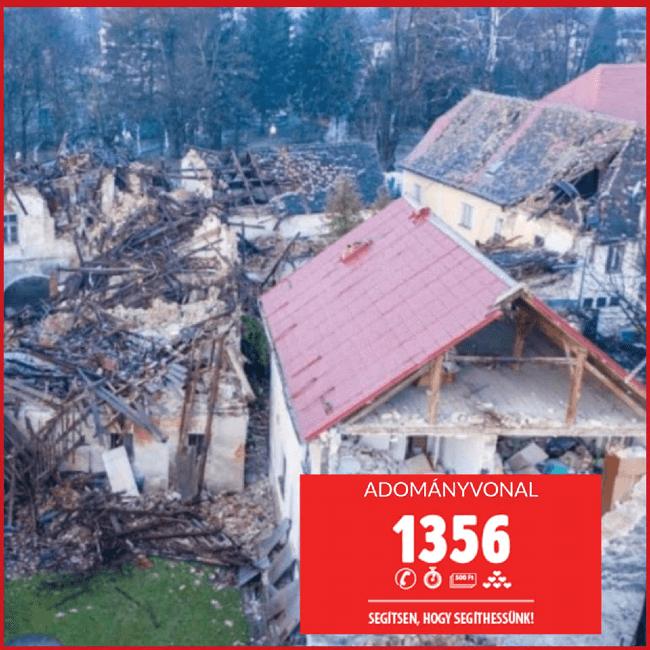 Segítsünk a horvátországi földrengés károsultjainak!